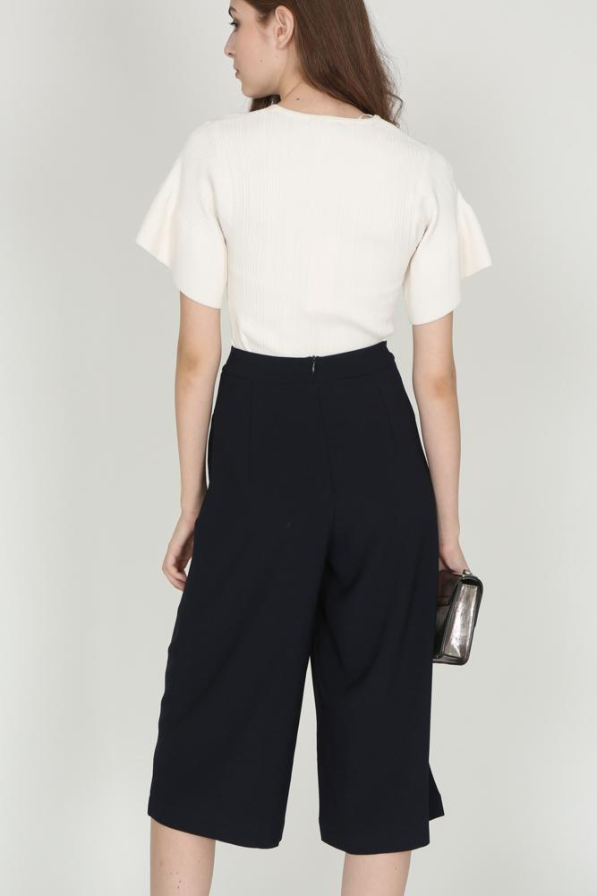 Contemporary Culottes in Midnight