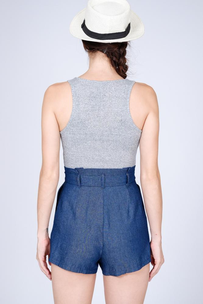 Deirdre Romper in Blue