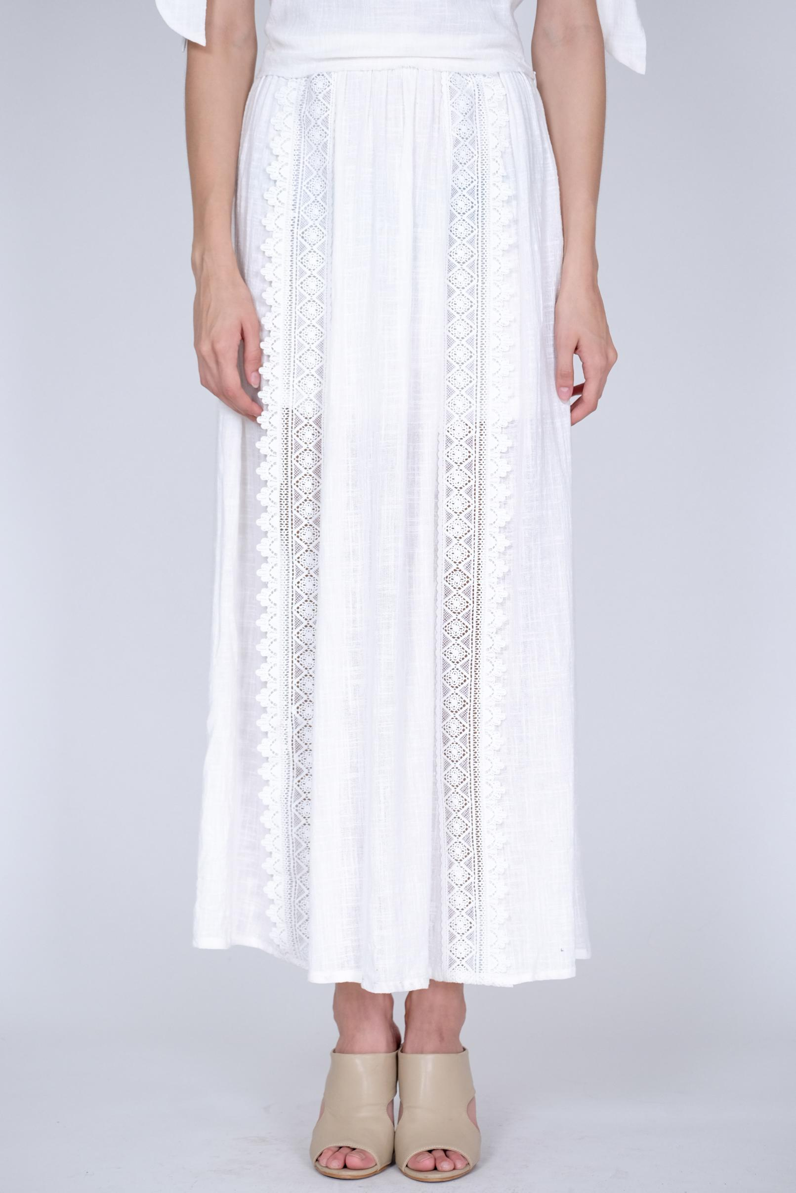 Jordana Skirt In White
