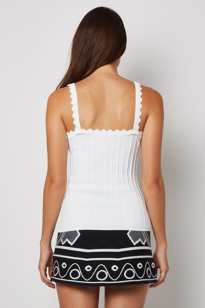 Dorien Top in White