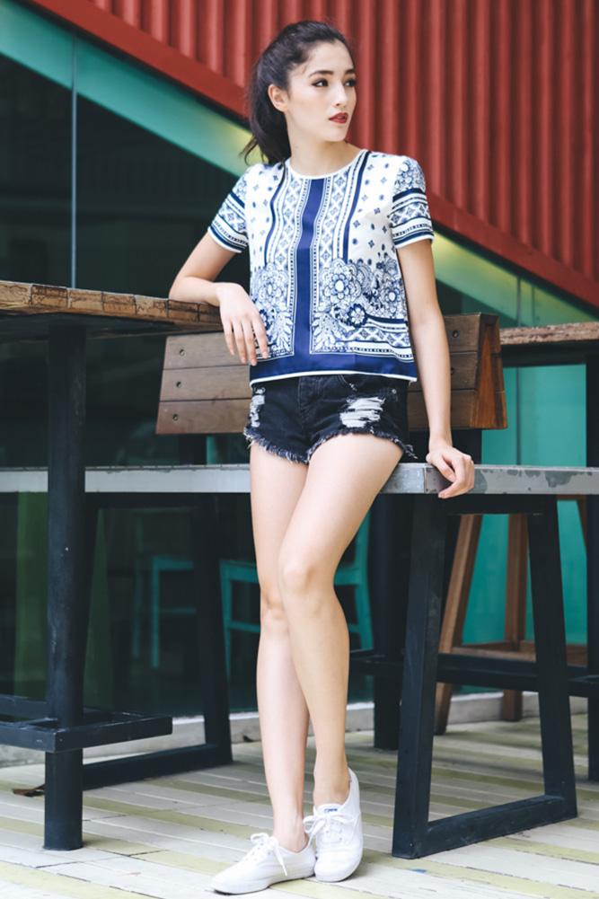 Johanely Top in Print