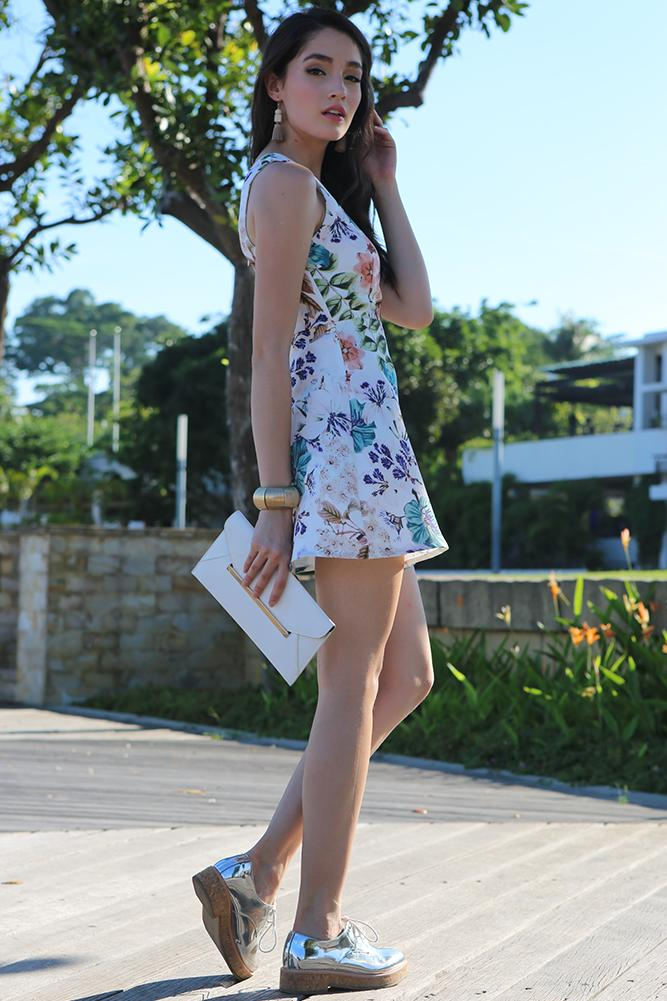 Lovell Dress in Floral