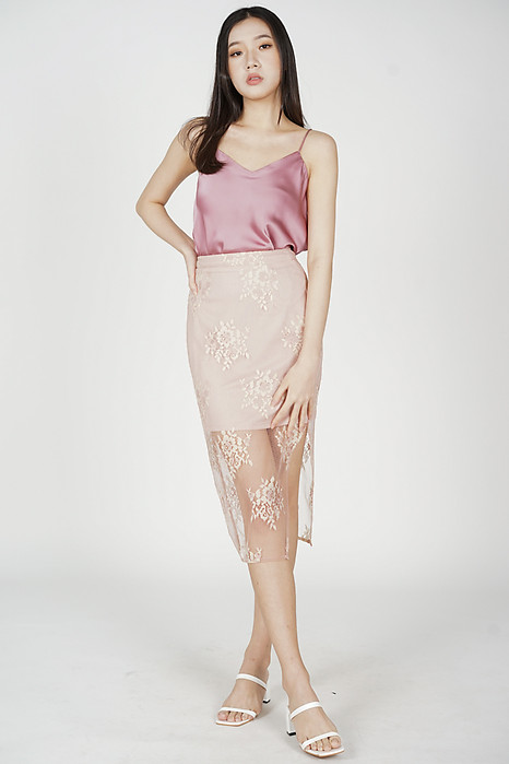 Saina Cami Top in Pink - Online Exclusive