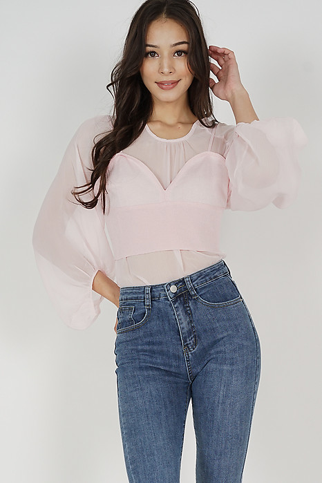 Eunice Top in Pink - Online Exclusive