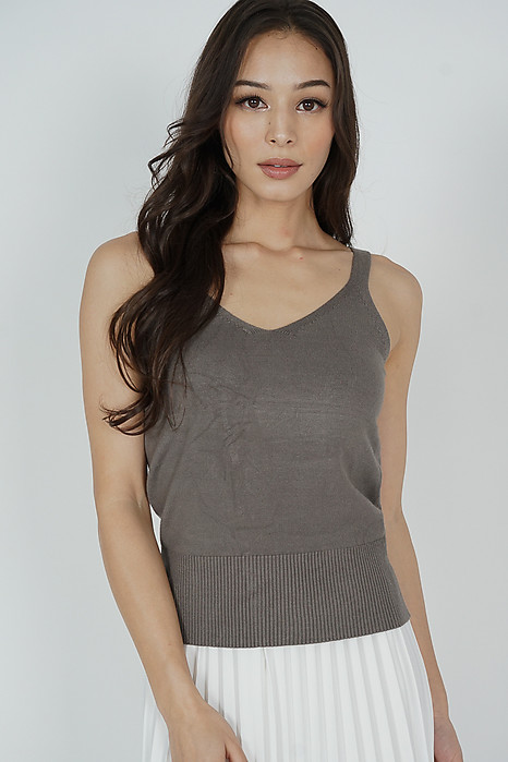Zanette Top in Cocoa - Online Exclusive