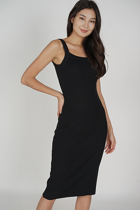Aneth Dress in Black - Online Exclusive