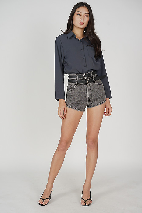 Weina Shorts in Black - Online Exclusive