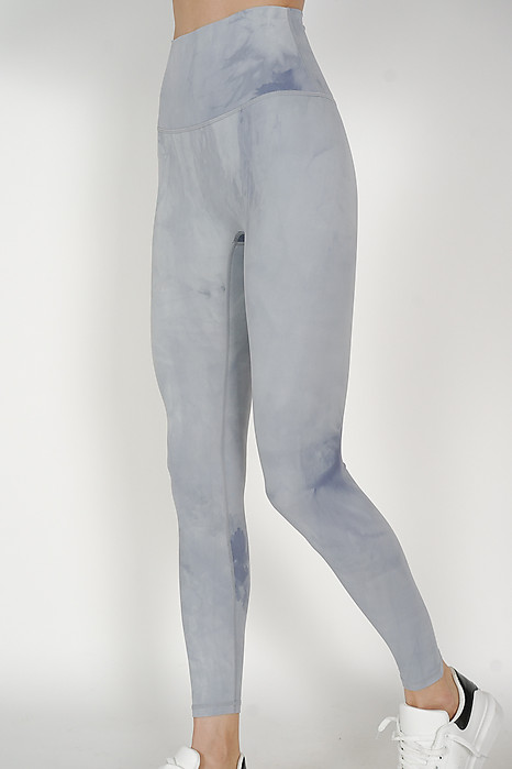 Erden Gym Tights in Light Grey