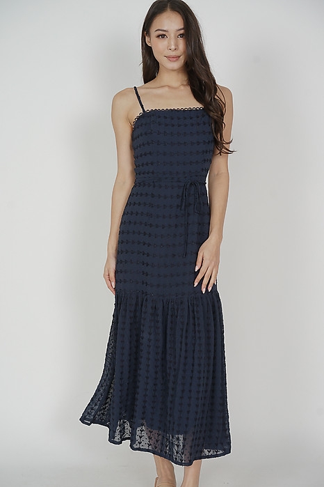 Adrianna Maxi Dress in Midnight - Arriving Soon