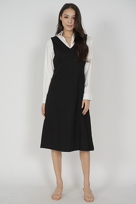 Meckie Outer Dress in Black - Online Exclusive