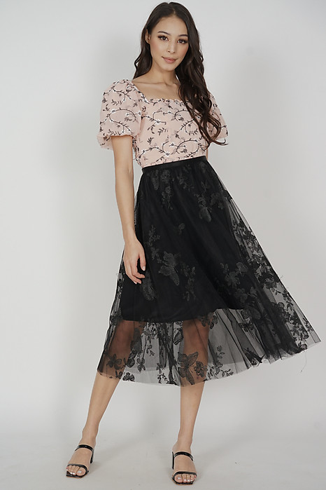 Reha Skirt in Black - Online Exclusive