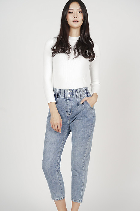 Joni Denim Pants in Blue - Online Exclusive