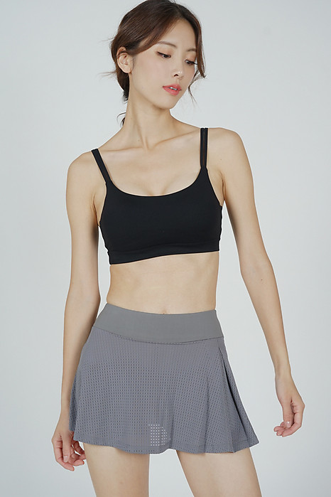 Orai Mesh Gym Skorts in Grey - Arriving Soon