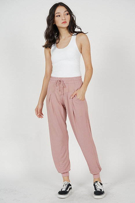 Maxine Sweatpants in Pink - Arriving Soon