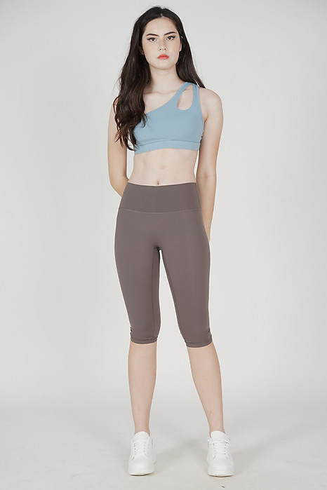 Levin Cropped Gym Tights in Grey - Arriving Soon