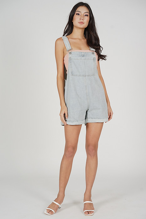 Ballario Overalls in Light Blue - Online Exclusive