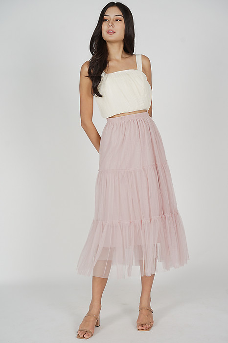 Meisa Maxi Skirt in Pink - Online Exclusive
