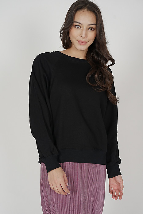 Dacia Sweater in Black - Online Exclusive