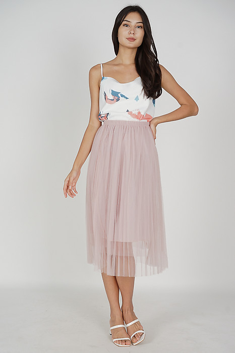 Regini Tulle Skirt in Pink - Online Exclusive