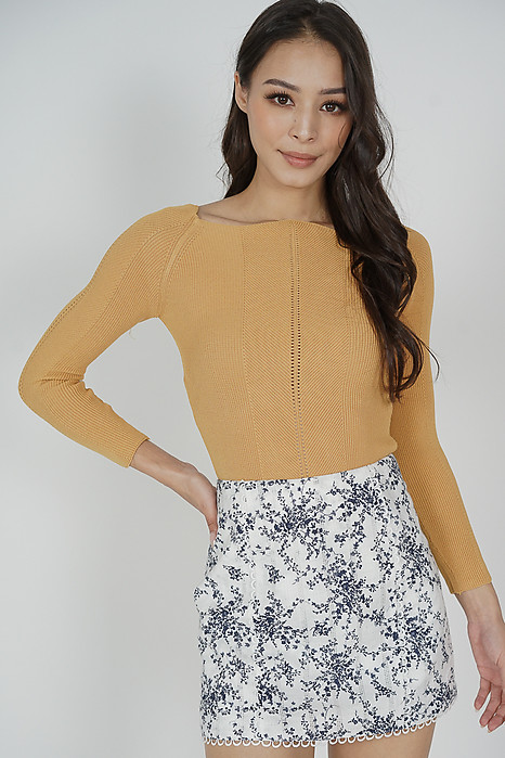 Jiani Top in Yellow - Online Exclusive