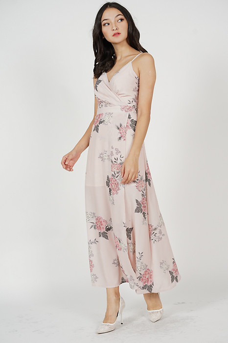 Madelyn Dress in Blush Floral