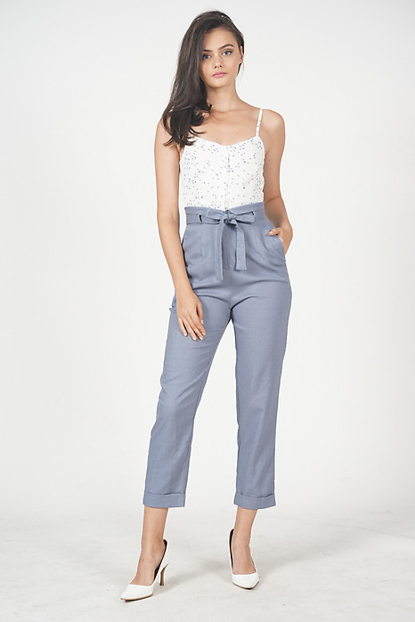 Aster Cami Jumpsuit in Mini Floral