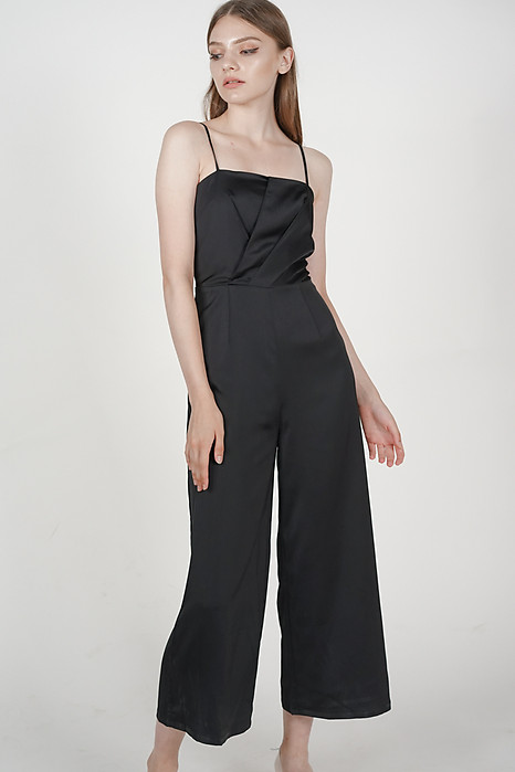 Halsey Jumpsuit in Black