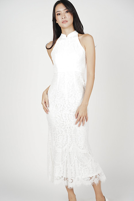 Raielyn Lace Dress in White