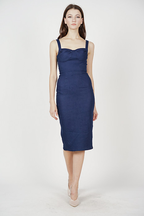 Orla Denim Dress in Blue - Online Exclusive
