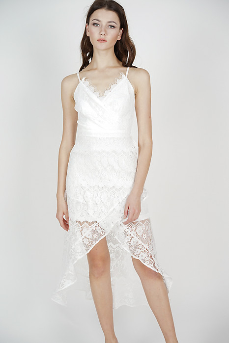82692a6407 Orianna Lace Dress in White