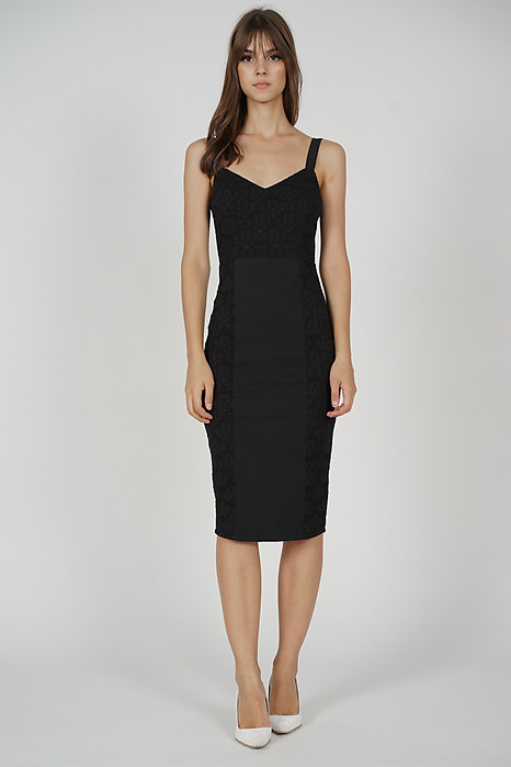 Eroda Lace Dress in Black - Arriving Soon