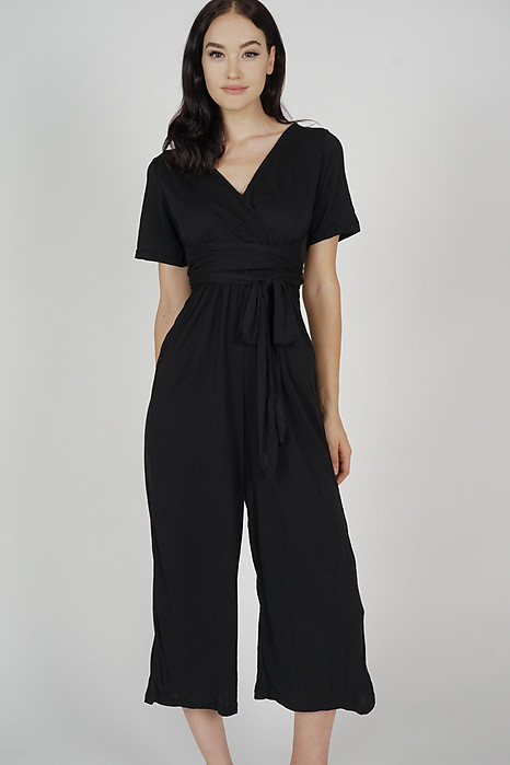 Yuna Jumpsuit in Black - Online Exclusive