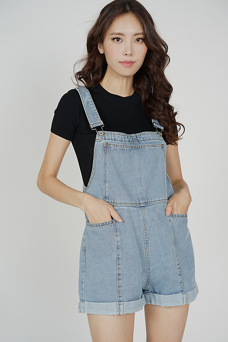 Waeryn Denim Overalls in Blue - Online Exclusive
