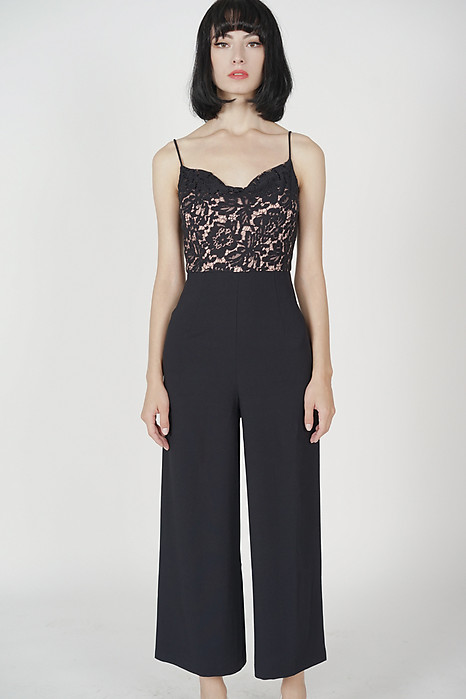 Meizer Cami Jumpsuit in Midnight
