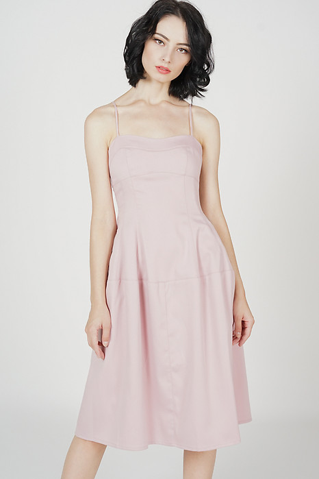 Livan Midi Dress in Pink - Arriving Soon