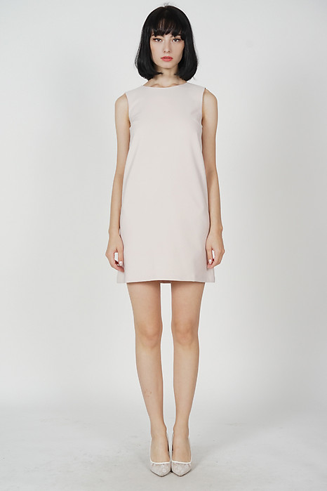 Khloe Shift Dress in Cream