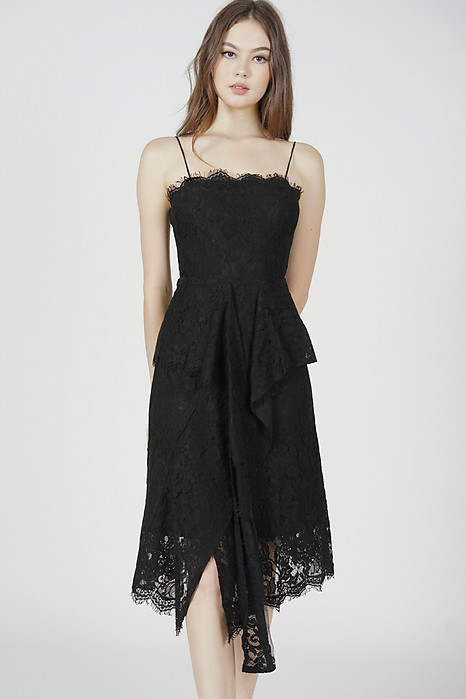 Gwenith Lace Dress in Black - Arriving Soon