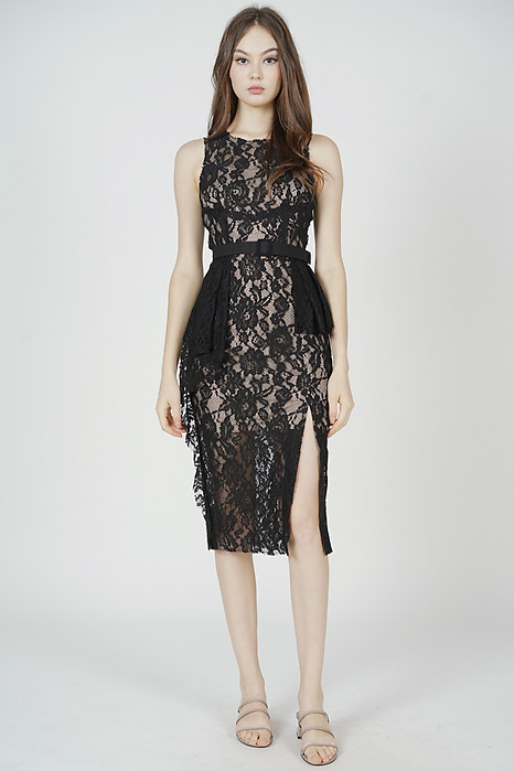 Dorothy Lace Dress in Black - Arriving Soon