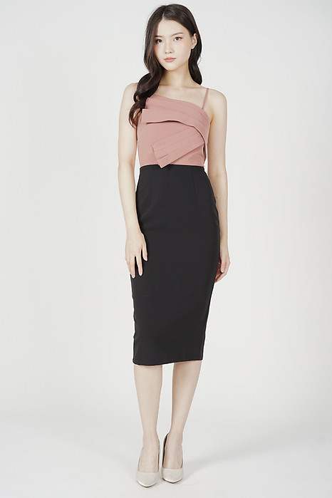 Kirsten Midi Dress in Pink - Arriving Soon