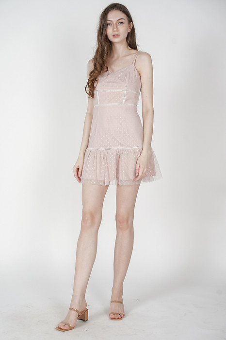 Yeva Tulle Dress in Pink - Arriving Soon