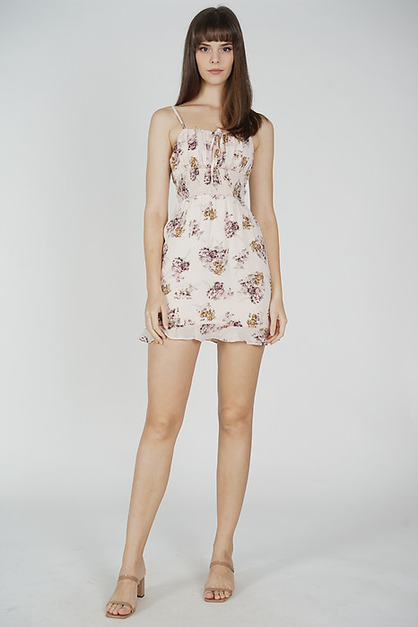 Leaven Cami Dress in Pink Floral - Arriving Soon