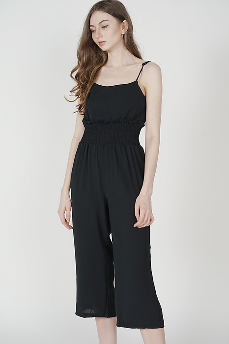 Yolanda Jumpsuit in Black - Online Exclusive
