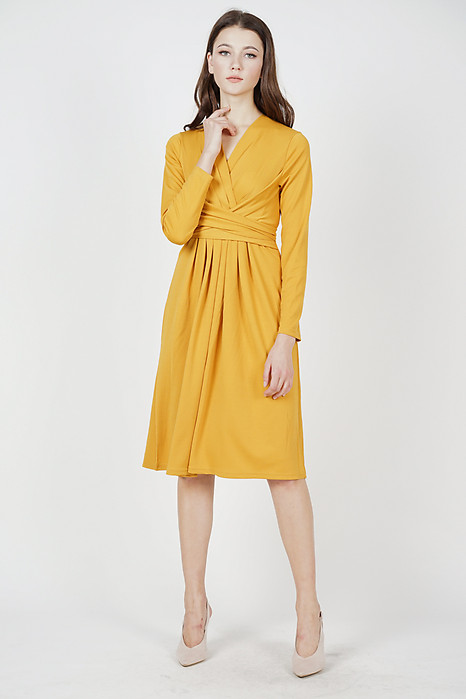 Mayser Midi Dress in Mustard - Online Exclusive
