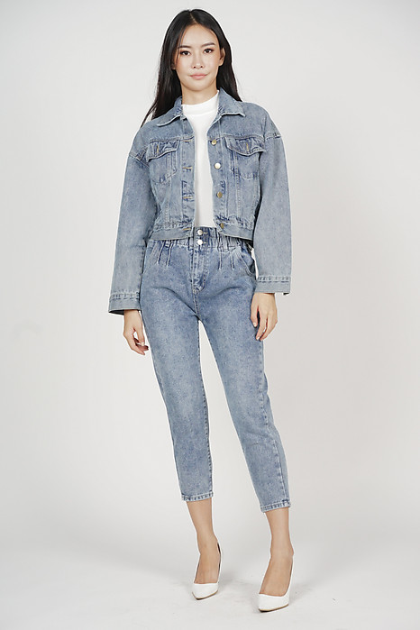 Jaesen Denim Jacket in Blue - Online Exclusive