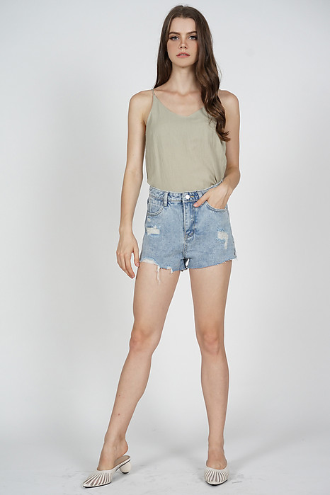 Trissie Cami Top in Olive - Online Exclusive