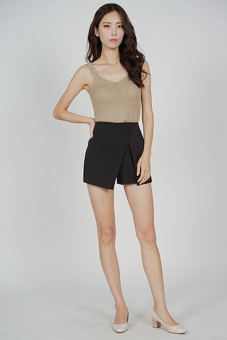 Meril Tank Top in Taupe - Online Exclusive