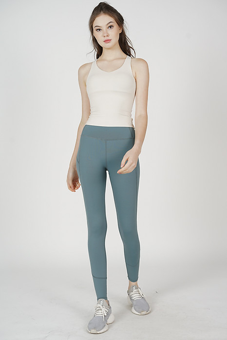 Hassie Gym Tights in Teal - Arriving Soon