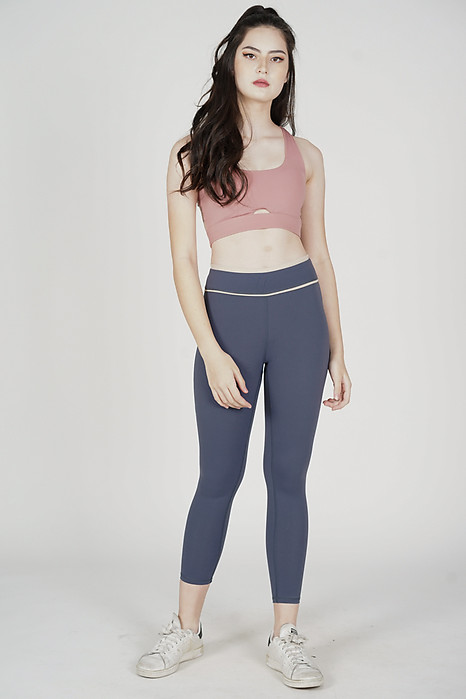 James Padded Top in Pink