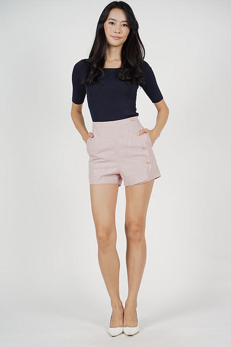 Kalenda Shorts in Pink - Online Exclusive