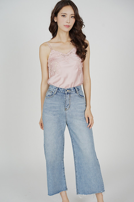 Andie Denim Jeans in Light Blue - Online Exclusive